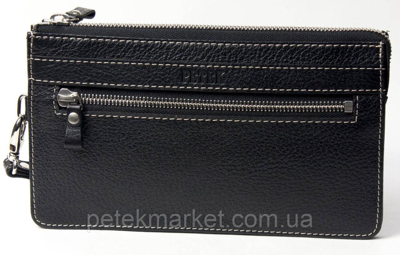e3e08780085e Клатч мужской PETEK 702 Черный (702-46B-KD1) - купить по лучшей цене ...