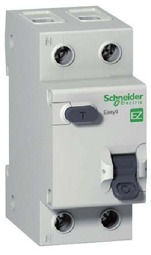 """Диференційний автоматичний вимикач EZ9 1Р+N/16А/30мА/тип """"АС"""""""