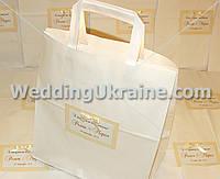 Свадебный пакет для подарков
