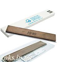Эльборовый брусок 50/40 для точилок типа Apex 150х25х5мм на органической связке, на бланке