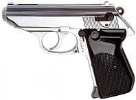 Пистолет стартовый (сигнальный) Шмайсер ПСШ-790 (хром, 7 зарядный)