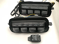 Габариты LED тюнинг с указателем поворота, надфарники для LADA 4x4 (Нива, NIVA)
