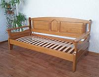 """Детская кровать из серии """"Орфей"""". Массив - сосна, ольха, береза, дуб."""