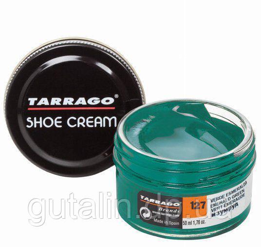 Крем для гладкой кожи Tarrago Shoe Cream 50 мл цвет изумрудный (127)