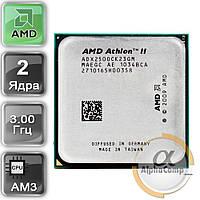Процессор AMD Athlon II X2 250 (2×3.00GHz/2Mb/AM3) б/у