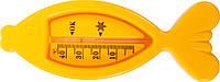 """Термометр для воды """"Рыбка"""" 7086 Уценка зеленый"""