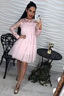 Шикарное платье из шифона. (494)