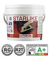 Эпоксидная затирка для мозаики.плитки LITOKOL STARLIKE : С.280 серый   КОЛЛЕКЦИЯ CLASSIC 5 кг.