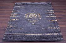 Ковер NOR-Cotton-Alderan-Grey/Gold (140x200 см) Индия