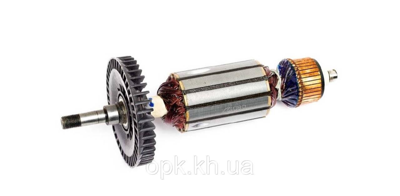 Якорь тст-н болгарки Sparky 230 MA 2000, Sparky 230 MA 2001 (46*214 мм, хвостовик - резьба 10 мм)