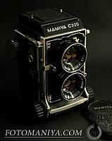 Mamiya C220 kit Mamiya-Sekor 80mm f2,8 Blue Dot