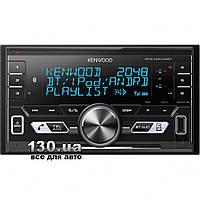 Медиа-ресивер Kenwood DPX-M3100BT со встроенным DSP и Bluetooth