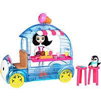 Игровой набор Энчантималс Enchantimals Фургончик с мороженым с пингвином FKY58, фото 2