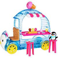 Игровой набор Энчантималс Enchantimals Фургончик с мороженым с пингвином FKY58, фото 3