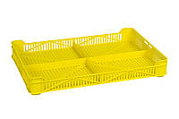 Ящик пластиковый 400х265х54, 2кг (1 сорт), морозостойкий, фото 1