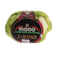 Помпонная пряжа Modo Almond (95% Полиэстер 5% Люрекс)