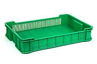Ящик пластиковый 600x400x115, 10кг (1 сорт), исп. II, фото 1
