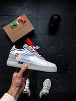 White X Nike Air Force 1 Low - White