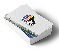 Изготовление двухсторонних визиток