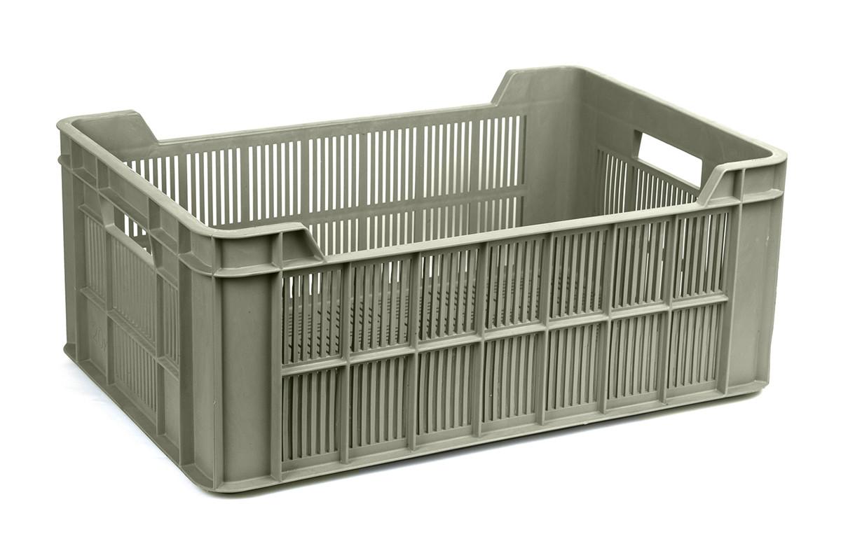 Ящик пластиковый 600х400х240, 20кг (2 сорт), исп. III