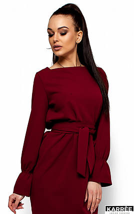 Женское платье Karree Тиана, марсала, фото 2