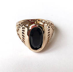 Перстень мужской Баккарро, размер 18, 19, 20
