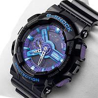 Часы спортивные CASIO G - SHOCK GA 110 Black Purple(реплика)