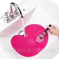 Коврик чистящийся  для кисточек Spa Brush Cleaning Mat