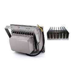 Теплоотвод с помощью радиаторов в светодиодных прожекторах уличных на 30 Вт