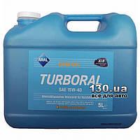 Моторное масло полусинтетическое Aral Turboral SAE 15W-40 — 5 л для грузовых автомобилей