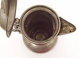 Антикварний олов'яний глечик, олово, Німеччина, 2 літра, фото 7