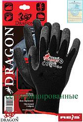 Перчатки защитные изготовленные из трикотажа и покрытые резиной DRAGON BB