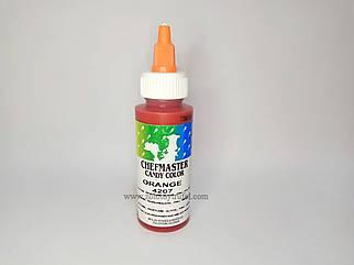 """Жирорастворимый краситель """"Orange""""(оранжевый) 56 г. """"Chefmaster"""""""