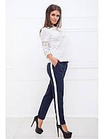 Деловые брюки с лампасами, фото 1