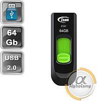 USB Flash 64Gb Team C141 USB2.0 (TC14164GG01) Green