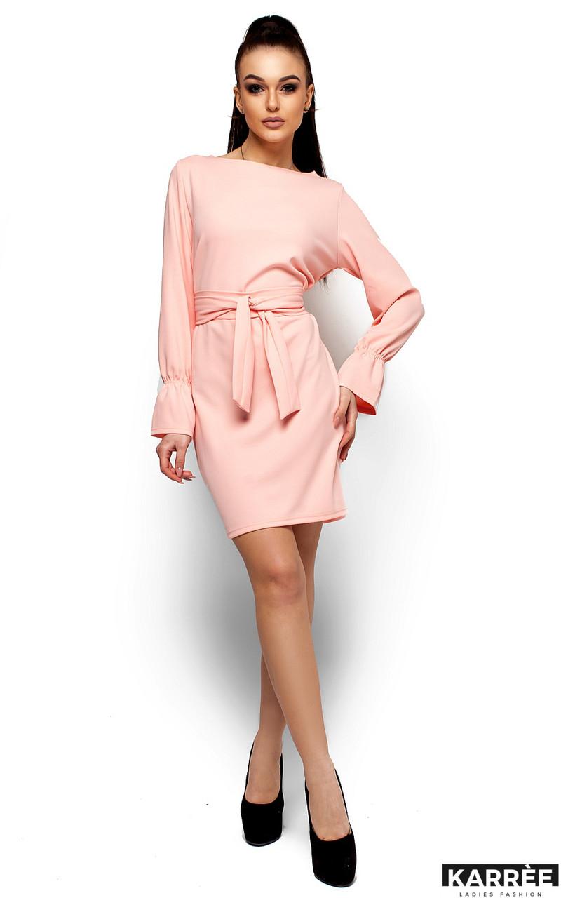 Женское платье Karree Тиана, персик