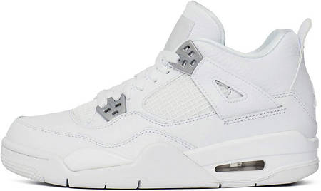 Баскетбольные кроссовки Nike Air Jordan 4 Retro Pure Money White ... da57411c50f