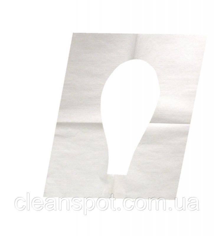 Накладки бумажные на крышку унитаза