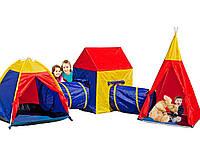 Детские палатки с тоннелем 5 в 1