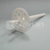 Дюбель крепления теплоизоляции 10х120мм, пластиковый гвоздь (Premium), фото 1