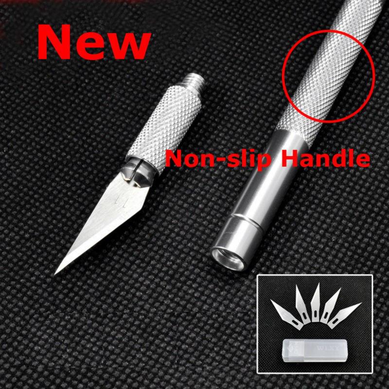 Нож-скальпель для моделирования 145 мм. + 5 лезвий
