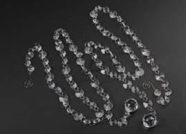 Акриловые гирлянды с кристаллов , подвесной декор (шар)