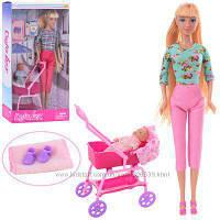 Кукла DEFA 8358, пупс, коляска, аксессуары