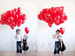 """Облако из красных сердец 11"""""""