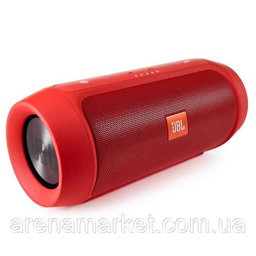Bluetooth колонка JBL Charge 2 репліка - червоний