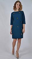 Платье ровный крой украшение из бисера Green & Country PD6506 , Турция, фото 1