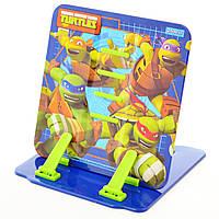 """Подставка для книг цветная металлическая """"Ninja Turtles"""""""