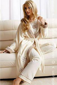 Жіночий халат L&L EMMA довгий
