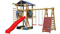 Детская площадка из дерева для детей SportBaby-9
