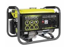 Генератор бензиновий K&S BASIC KS 2800A (2,8 кВт, алюминиевая обмотка)
